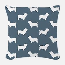 Glen Of Imaal Terrier Woven Throw Pillow