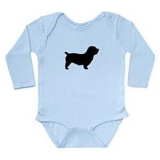 Glen of Imaal Terrier Long Sleeve Infant Bodysuit