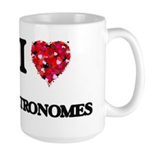 I Love Metronomes Mugs