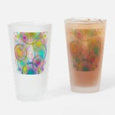 colorful circles Drinking Glass