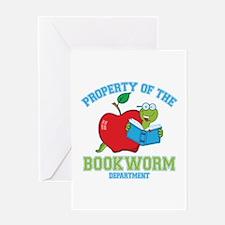 Bookworm Dept Greeting Card