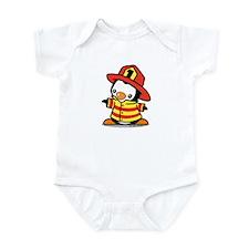 Firefighter Penguin Body Suit