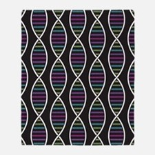 Strands of DNA Throw Blanket