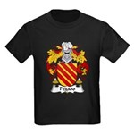 Pegado Family Crest Kids Dark T-Shirt