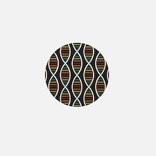 Strands of DNA Mini Button