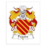 Pegado Family Crest Small Poster