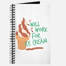 Work For Ice Cream Journal