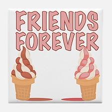 Friends Forever Tile Coaster