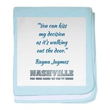 RAYNA QUOTE baby blanket