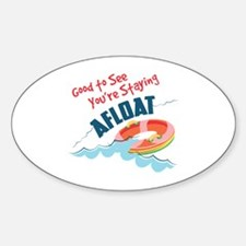 Staying Afloat Decal