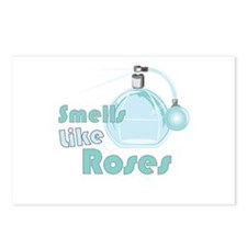Smell Like Roses Postcards (Package of 8)