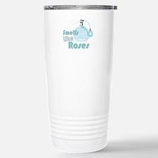 Smell Like Roses Travel Mug