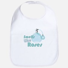 Smell Like Roses Bib