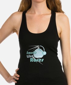 Smell Like Roses Racerback Tank Top