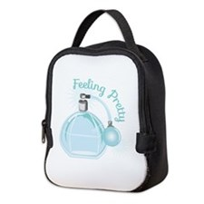 Feeling Pretty Neoprene Lunch Bag