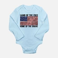 Land Of The Free,Home Of The Brave Body Suit
