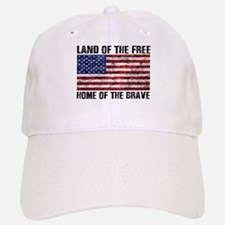 Land Of The Free,Home Of The Brave Baseball Baseball Baseball Cap