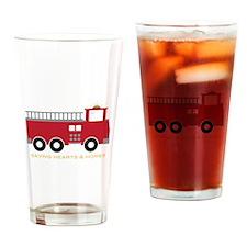 Saving Homes Drinking Glass