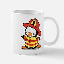 Firefighter Penguin Mug Mugs