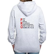 Pro America Zip Hoody