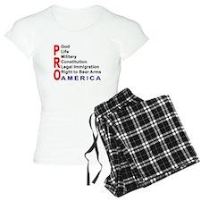Pro America pajamas