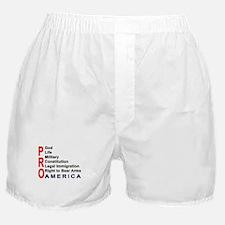 Pro America Men's Boxer Shorts