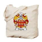 Pedroso Family Crest Tote Bag
