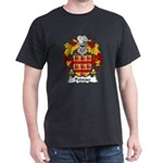 Pedroso Family Crest Dark T-Shirt