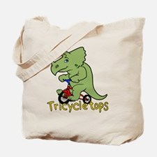 Triceratops Bicycle Tote Bag