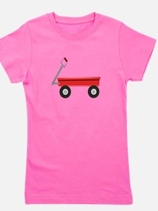 Red Wagon Girl's Tee