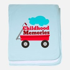 Childhood Memories baby blanket