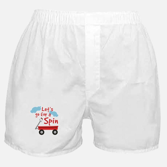 Go For Spin Boxer Shorts