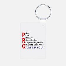 Pro America Keychains