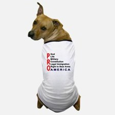 Pro America Dog T-Shirt
