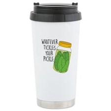 Tickles Your Pickle Travel Mug