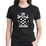 Pavia Family Crest Women's Dark T-Shirt