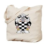 Pavia Family Crest Tote Bag