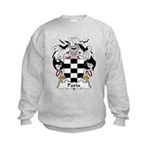 Pavia Family Crest Kids Sweatshirt