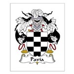 Pavia Family Crest Small Poster