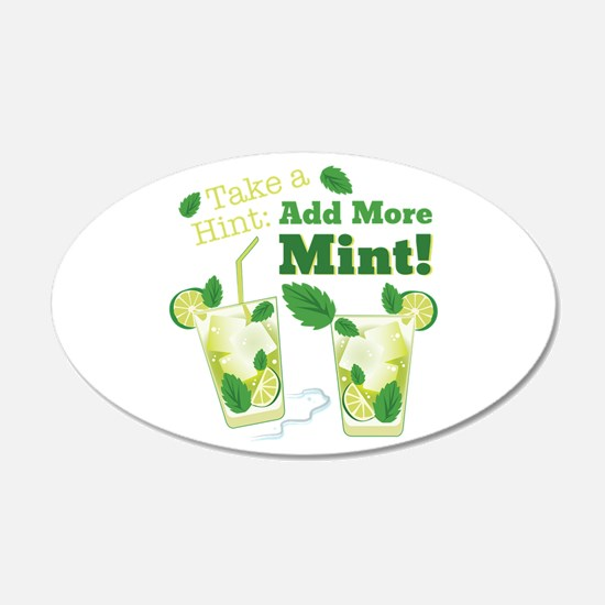 Add More Mint! Wall Decal