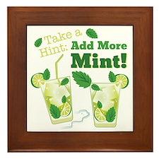 Add More Mint! Framed Tile