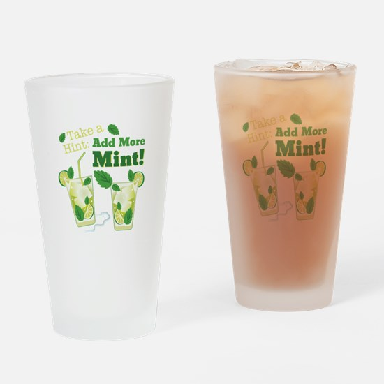 Add More Mint! Drinking Glass