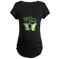 Add More Mint! Maternity T-Shirt