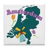 Amsterdam netherlands Drink Coasters