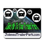 Alien Take Me To Your Trailer Mousepad