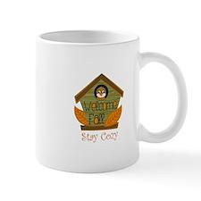 STAY COZY BIRDHOUSE Mugs