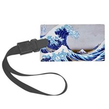 The great wave off shore of Kana Luggage Tag