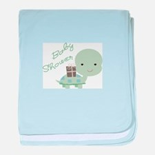 BABY SHOWER TURTLE baby blanket