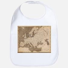 Vintage Map of Europe (1804) Bib