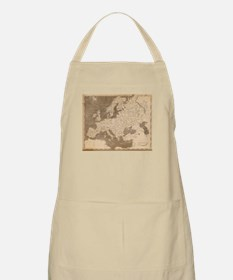 Vintage Map of Europe (1804) Apron